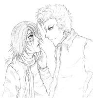 -Never let you down- sketch by shirotenshi-chan