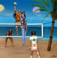 starwars summer beach volley by jaymahjad