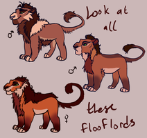 Floof Overlords by darkfire-kitty