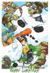 TMNT: Merry Christmas 2012! by loolaa