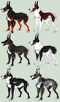 Hallow Hounds Import #1 by Squiggy-Adoptables