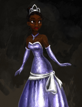 Tiana Painting by lorienelf