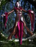 NightQueen - Ruby furs by Aarki