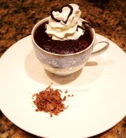 Cup of chocolate dessert by Sydney0007