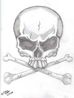 Skull Tattoo Design by Genesis19