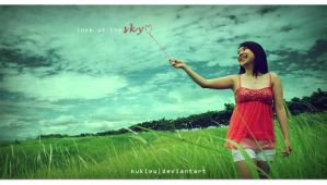 :: Love at The Sky :: by nukieu
