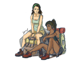 Backpacking Korrasami by Youpje