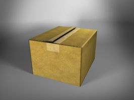 Just a box by Atzero