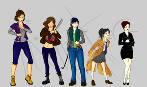 Supernatural: Genderbenders by luckyleo13
