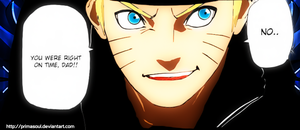 Naruto 630, You were right on time DAD! by PrimaSoul