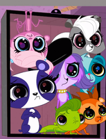 Cute Pets (Littlest Pet Shop) by mariosonic7878