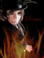 Dorian gray in the decaying flames by SephirothMichaelis