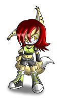 New Character: Alexis White by PrototypeTheory