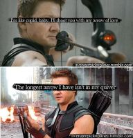 Happy Valentines Day- Clint Barton by Pepsi-Regina