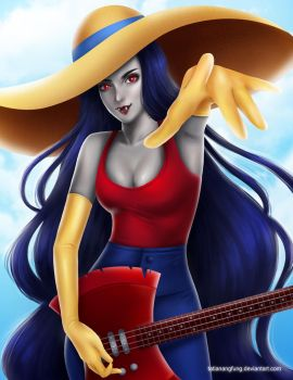 Marceline - Adventure Time by tatianangfung