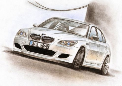 BMW M5 - Sarge by Medvezh
