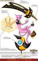 L'Pokedex 151 - Mew FR by Pokemon-FR