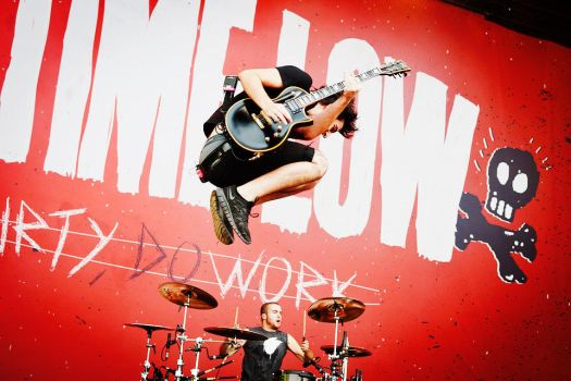 2012 Leeds Festival, All Time Low by GabriellaCB