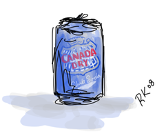 Club Soda Can by SpitFire19er