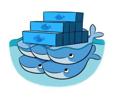 Docker whales by bloglaurel