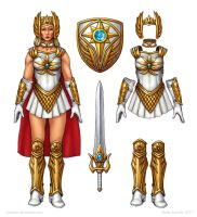 She-Ra Movie Costume Redesign by Osmatar