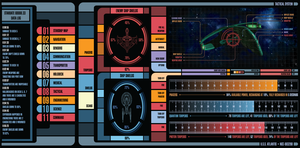 LCARS Tactical System by TronTrek