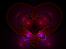 Fractal Heart by Moonchilde-Stock