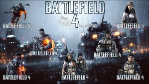 BAttlefield 4 icon pack by cHolTOP
