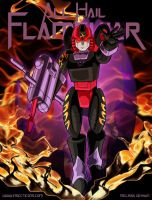 Flamewar Poster 2015 by WaywardInsecticon