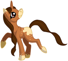 Contest Prize: Pony Chibi by CursedFire