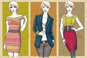 Fashion Illustration - Fall 2009 by kitsuneko