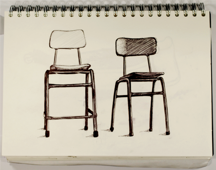 Chairs by Mangaeyes