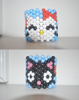 Hello Kitty Chococat Cuff by amyswlee