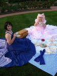 Our perfect tea party by Elrowiel