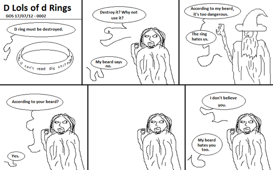 D Lols of d Rings - The Meeting 2 by G0D0FSHAD0WS