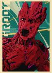 Groot Guardian of the galaxy by Black-end-White