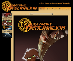 Legendary Destination new website by ARegnant