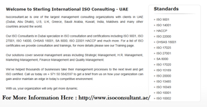 ISO  consultants dubai by isoconsultant