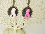 Tentacle Cameo Necklaces by alexredford