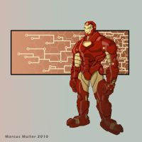 Iron Man by marcusmuller