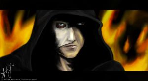 his hood in the dark by silverwing24