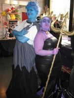 Ursula and Hades by BellaDogliotti