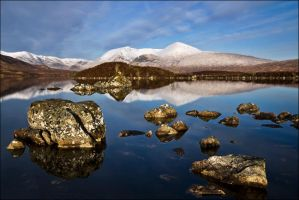 Black Mount, Scotland by ketscha