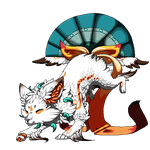 Amaterasu Foxfan - Gift by Fucal