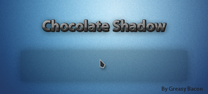 Chocolate Shadow Cursor by GreasyBacon