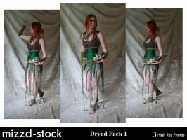 Dryad Pack 1 by mizzd-stock