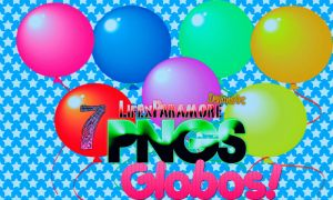 PNG-Globos- by LifexParamore