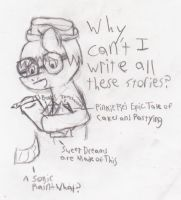 WHY CAN'T I WRITE ALL THESE FANFICS? by macmcjones