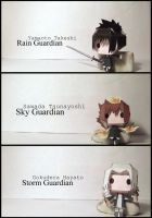 VONGOLA TRIO - Papercraft by awesomeness890