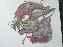 Some fan art of Tzuki by Wolfeh2damax